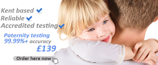 DNA Test Services in England. Only £139.