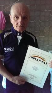 EasyDNA Paternity Test oldest Father Vidas Antonovas Lithuania